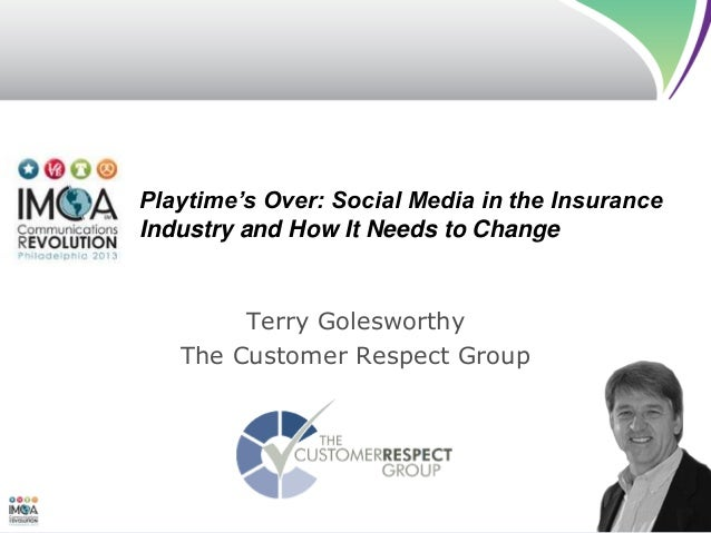 Social Media - Playtime is Over - IMCA Conference June 2013