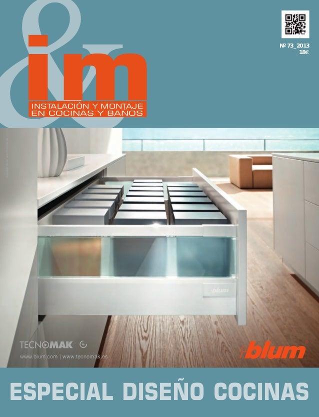 &  im  Nº 73_2013 18€  www.blum.com   www.tecnomak.es  Spain  Cover IMCB, issue 73  230 x 170 mm  bleed: 6 mm  Copyright B...