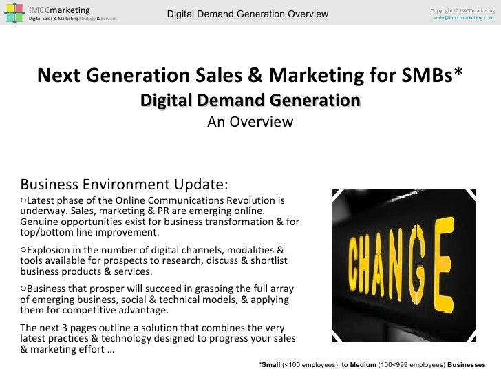 Demand Generation for SMBs