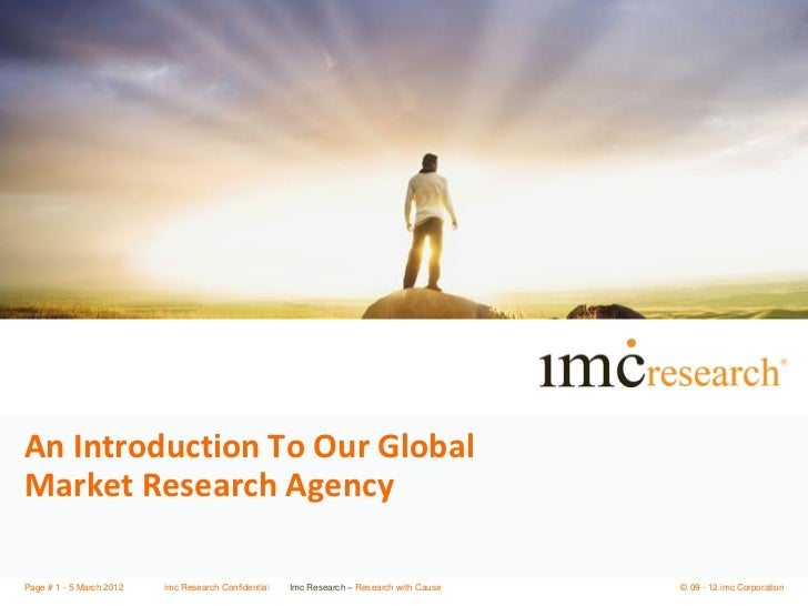 imc Research Introduction