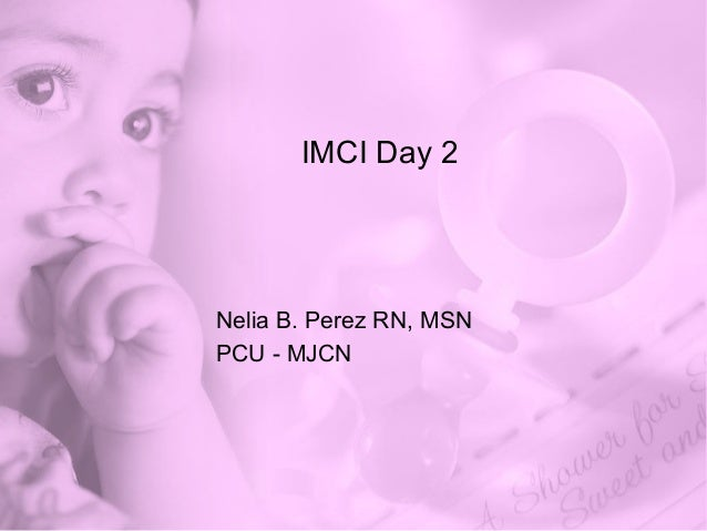 Imci day 2