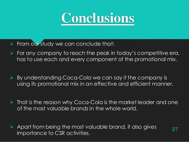 coca cola imc plan Case studies on the best imc  developing new imc plan for  following the success of 'the coke side of life' coca cola released its 'open happiness.