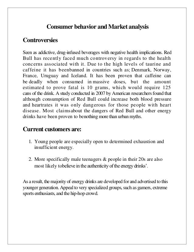 strategic analysis of red bull gmbh essay What is coca-cola's target market a: quick answer coca-cola has no specific target market, according to marketmixxcom.