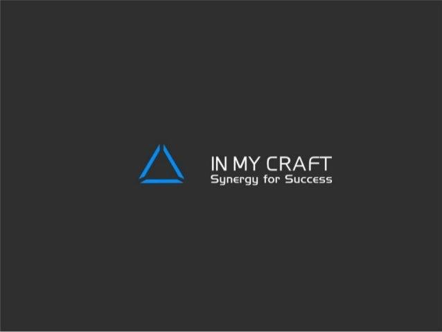 Презентация проекта In My Craft