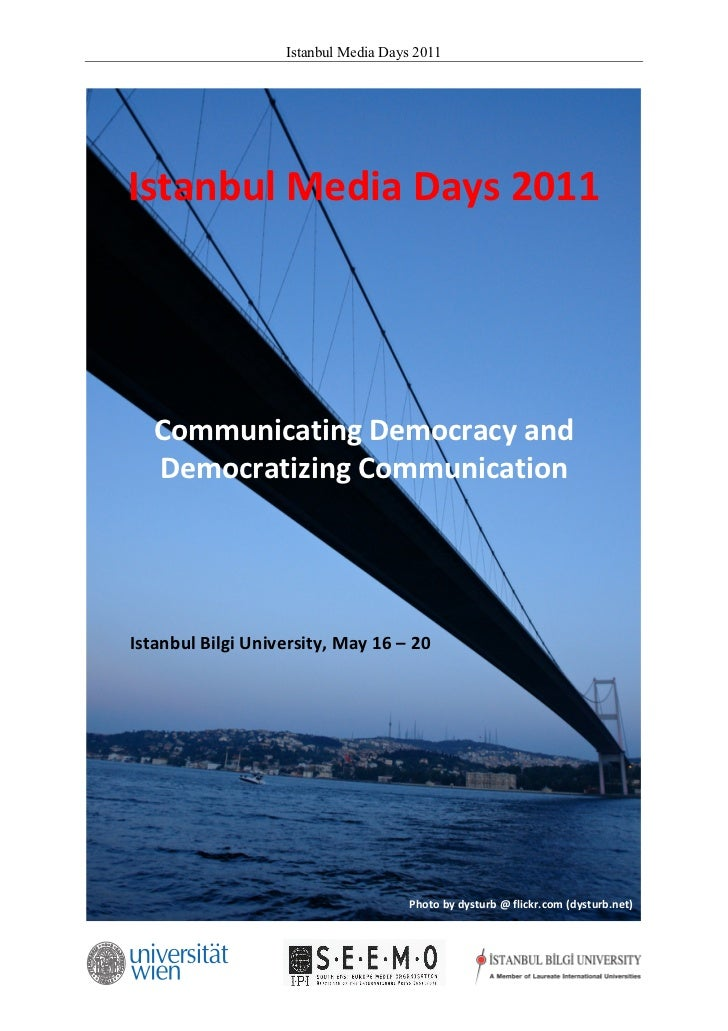 Istanbul Media Days 2011                                                               Istanbul Media Days 201...