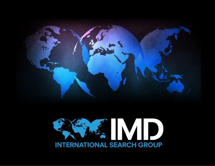 IMD Corporate Presentation