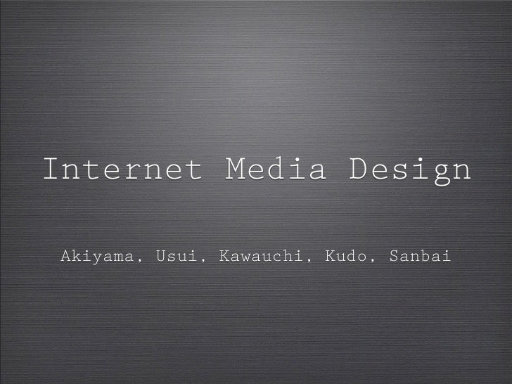 Final Presentation[IMD]