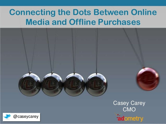 Connecting the Dots Between Online Media and Offline Purchases