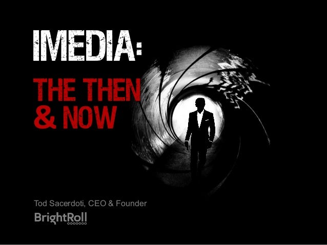 iMedia:THE THEN&	  NOWTod Sacerdoti, CEO & Founder