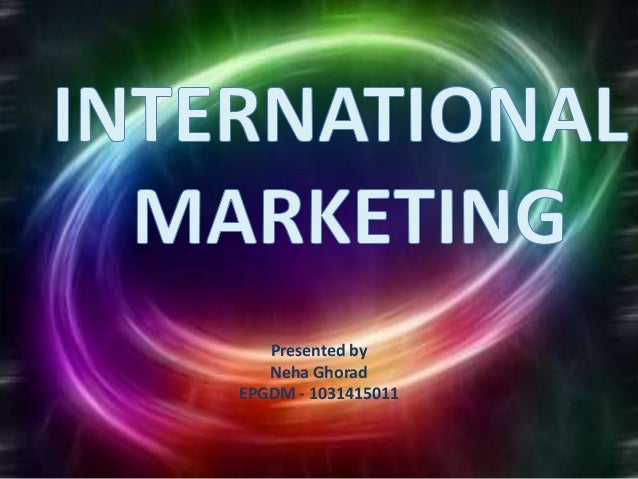 international marketing trade This column reports on the march meeting on trade policy and international  marketing, a collaboration between the ama, georgetown university and the us .