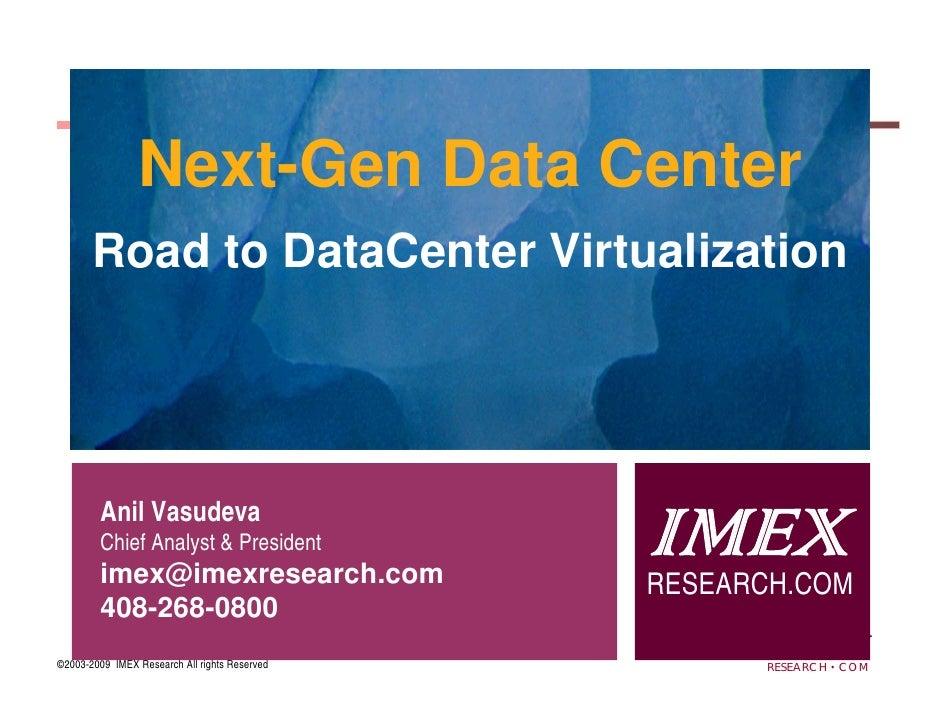 Imex Research Virtualization Executive Summary On Slideshare
