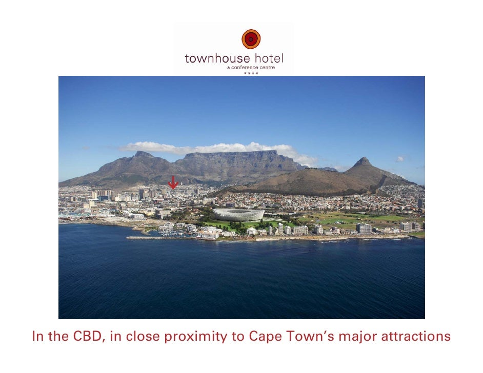 In the CBD, in close proximity to Cape Town's major attractions