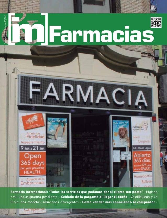 Revista IM Farmacias. Distribución farmacéutica