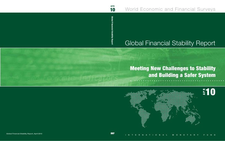 IMF Global Stability Report