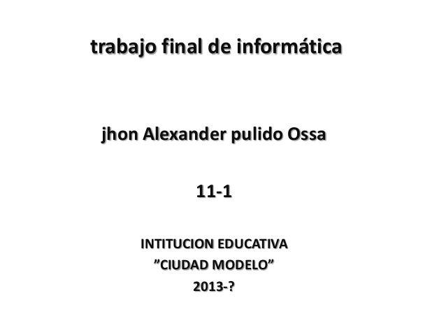 Imformatica