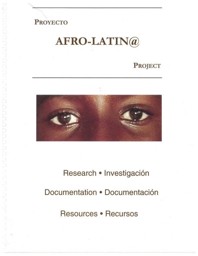 Afrolatin@ Project
