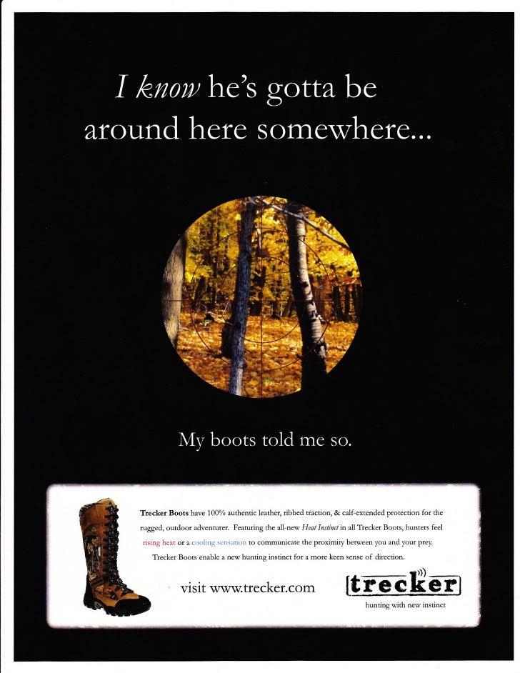 Trecker Brand Magazine Ad