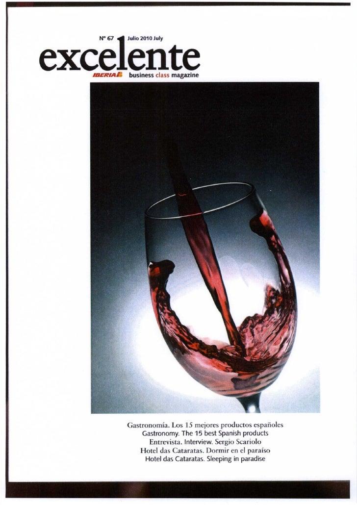 Grupo Frial en Iberia Business Class Magazine