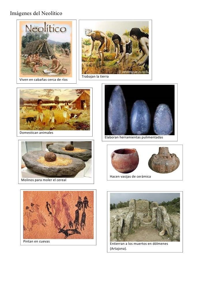 Imágenes del neolítico