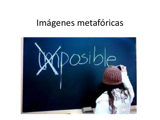 Imágenes metafóricas