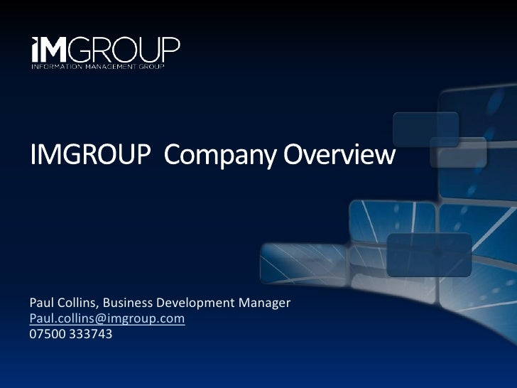 IMGROUP Company Overview