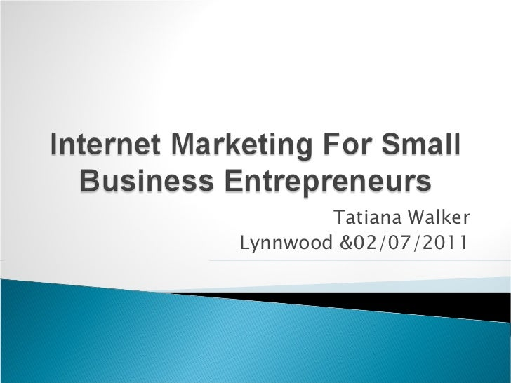 Internet Marketing Guide for Small Businesses