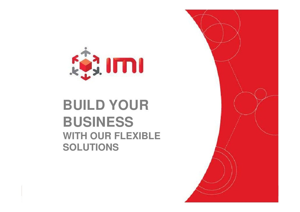 BUILD YOUR                          BUSINESS                          WITH OUR FLEXIBLE                          SOLUTIONS...