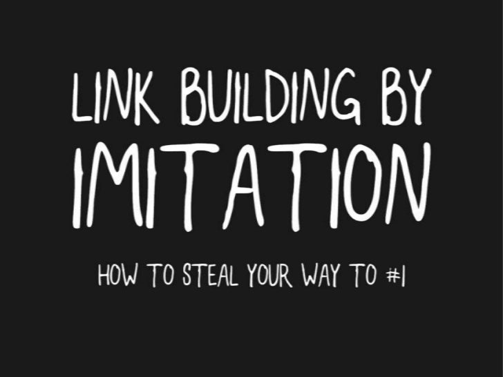 Link Building By Imitation