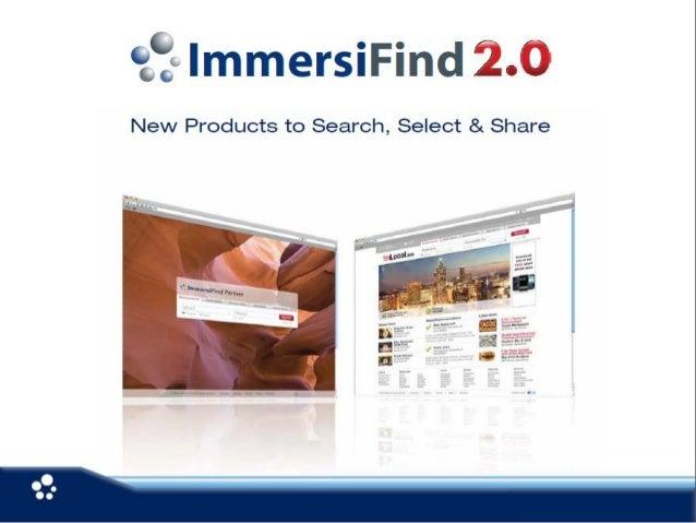 ImmersiFind 2.0 Local Search Platform