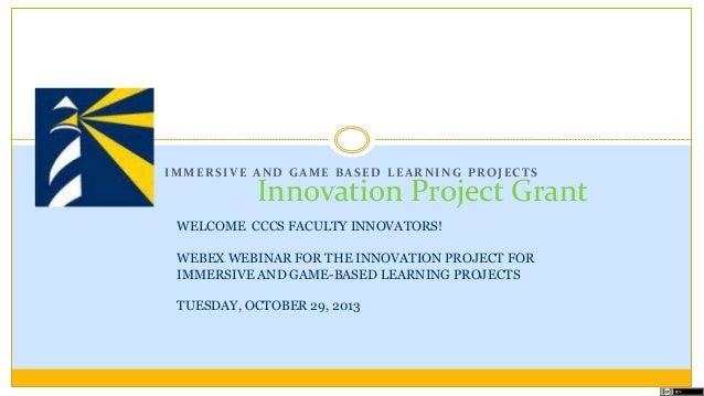 Immersive learninggrantwebinar10 29_2013