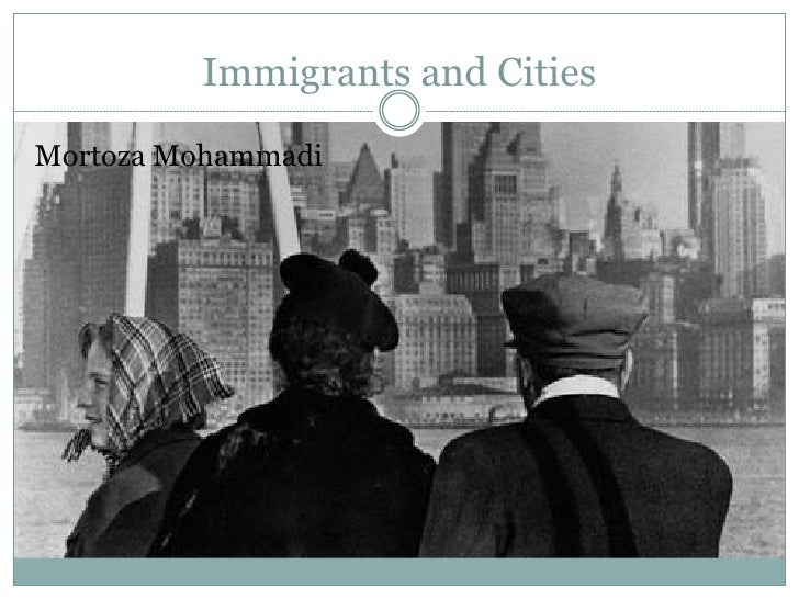 Immigrants And Cities