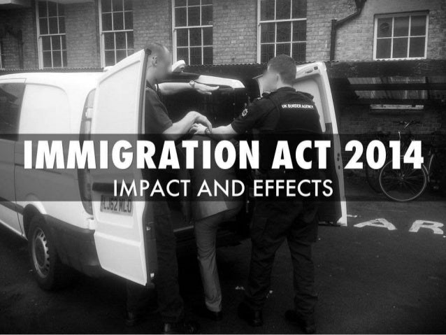 Immigration Act 2014