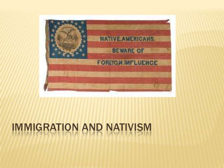 Nativism Flag Immigrat...