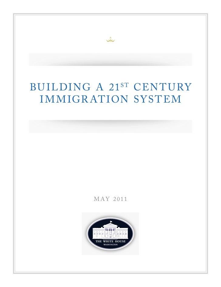 Immigration blueprint