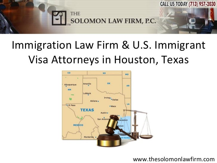 Immigration Law Firm & U.S. Immigrant Visa Attorneys in Houston, Texas