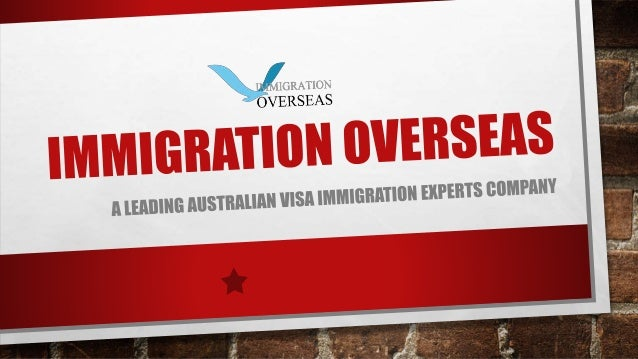 IMMIGRATION OVERSEAS INDIA IMMIGRATION OVERSEAS INDIA, WITH EXPERIENCE OF AROUND 22 YEARS IN THE MIGRATION INDUSTRY IS CON...