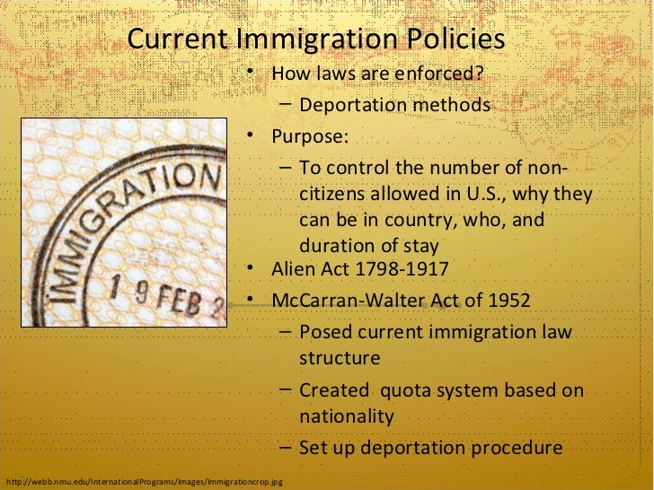 the impact of the quota based immigration Information about the 1921 emergency quota act to limit and control immigration 1921 emergency quota quota act fact 14: impact: based on the.