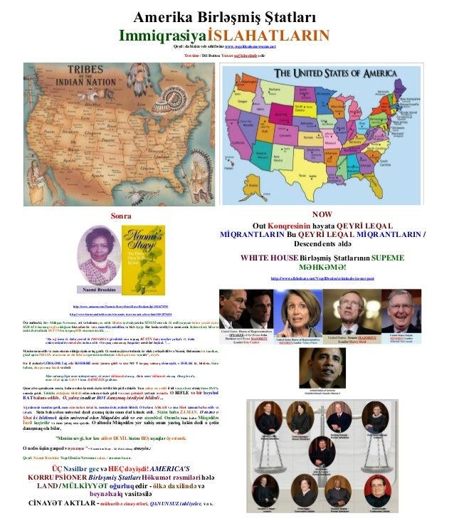 United States of America – IMMIGRATION REFORM - AZERBAIJANI