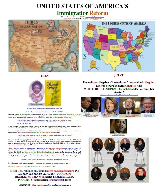 UNITED STATES OF AMERICAS                                                           Immigration Reform                    ...