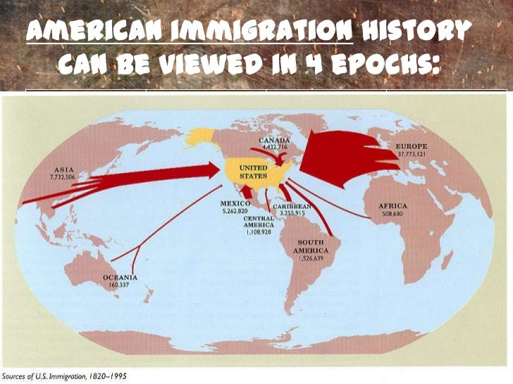 a history of englishmen immigration to the america Our story begins in 15th and early 16th century europe - with an undertanding   learned about why the english left england to migrate to north america  in  16th century europe and how it impacted european immigration to the new  world.