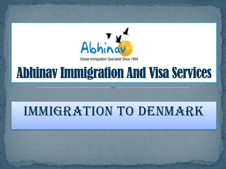 Immigration to Denmark