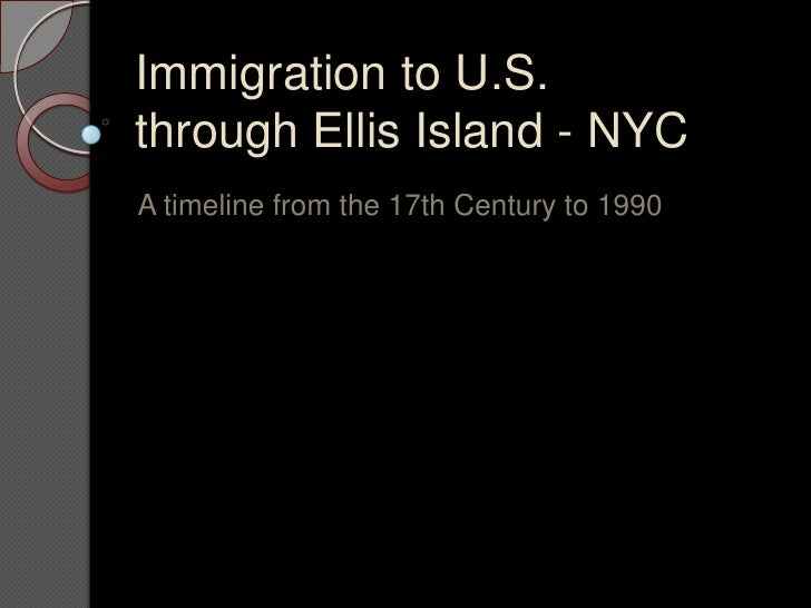 Immigration to NYC