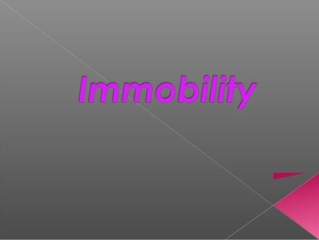.Identify factors affect or alter mobility   Describe the impact of immobility on physiologic and     .psychological fun...