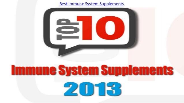 Best Immune System Supplements