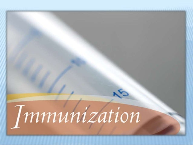 Immunization and Cold Chain