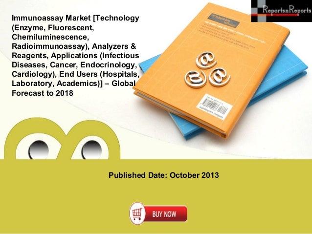 Published Date: October 2013 Immunoassay Market [Technology (Enzyme, Fluorescent, Chemiluminescence, Radioimmunoassay), An...