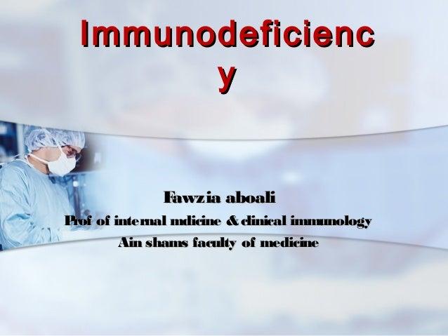 Immunodeficiency .