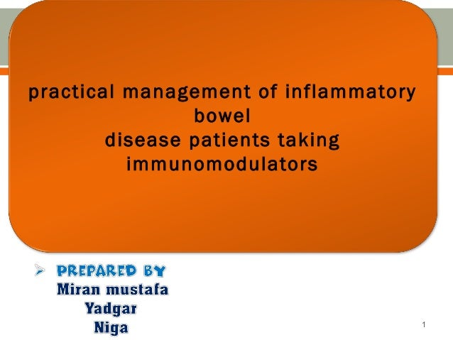 inflammatory bowel disease  and drug used for it