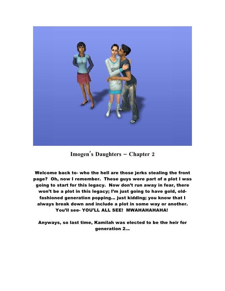 Imogen's Daughters - Chapter 2