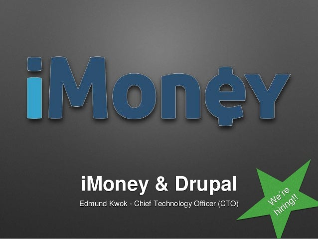 iMoney & Drupal - We're Hiring Senior Drupal Developers!
